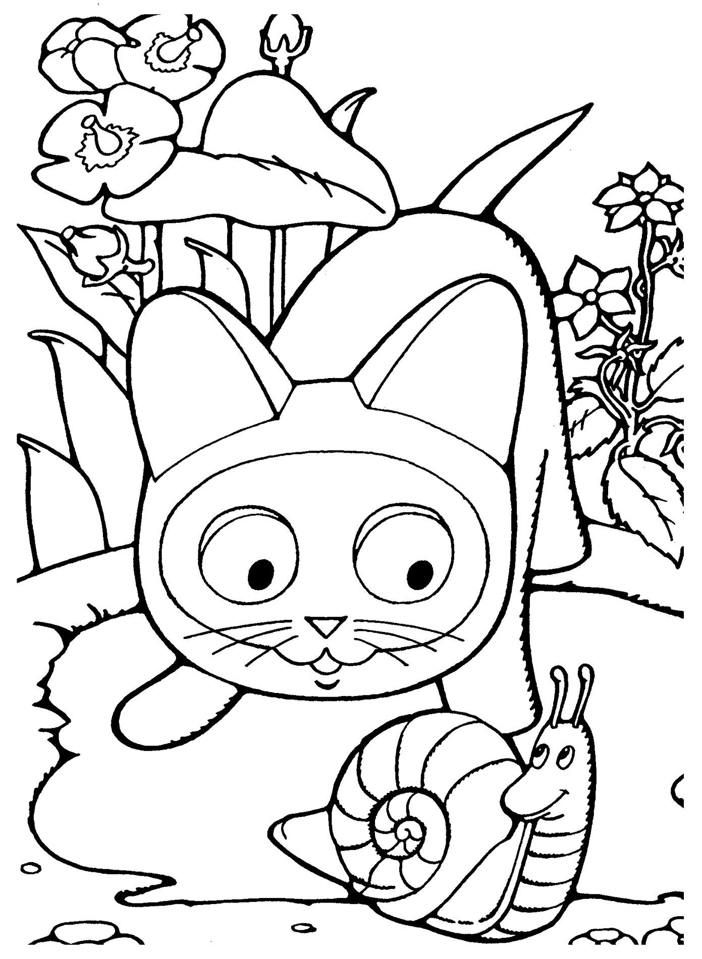dessin de chaton trop mignon a imprimer