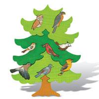 Деревянные пазлы. Северная Европа