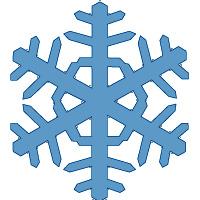 Снежинки раскраски онлайн