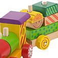 Деревянная игрушка. паровозик