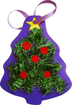 Как сделать новогоднюю игрушку из цветной бумаги