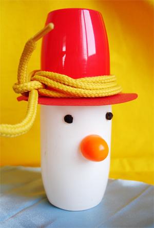 Снеговик своими руками. Поделка