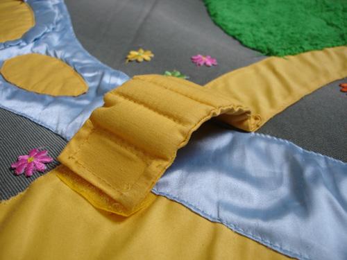 Элементы развивающего коврика