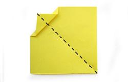 оригами на пасху. Цыпленок