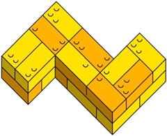 Модель Пентамино из Лего