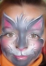 Боди арт на лице рисунки на лице