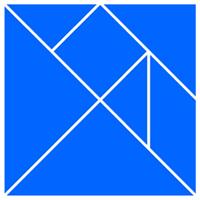 Схема разрезания квадрата