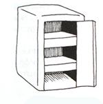мебель из коробок