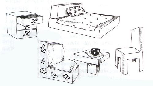 Мебель из спичечных коробков своими руками инструкция 46