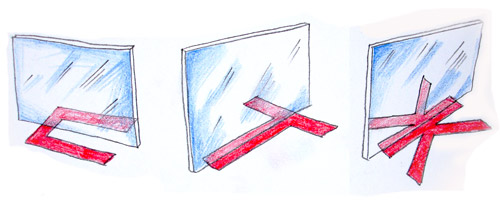 Игры с буквами и зеркалом