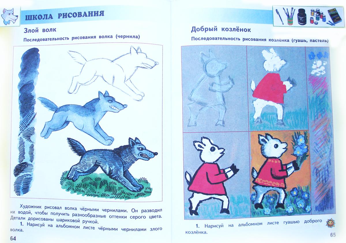 знакомство детей с картинами русских художников