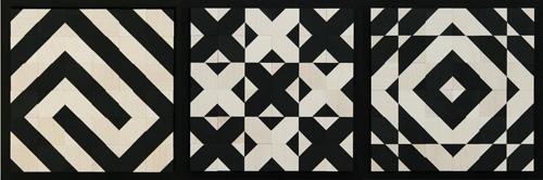 Узоры, сложенные из кубиков