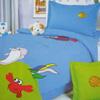 Детское постельное белье из шелка и сатина