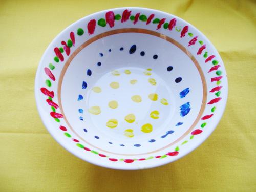 Как расписывать  тарелки