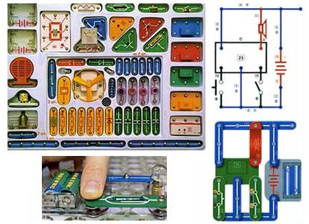 Конструктор с электрическими схемами