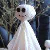 Поделки к празднику Хэллоуин. Привидения
