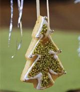 печенье елочка