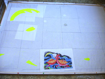Рисуем красками по ткани