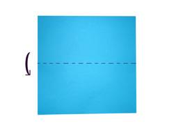 как сложить дом из бумаги