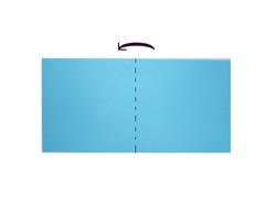 складываем домик из бумаги