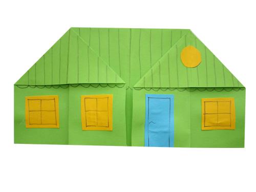инструкция пошаговая домика бумажного