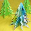 Оригами. Елочка к Новому году