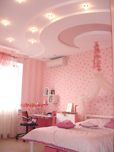 Подвесной потолок в детской