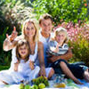 Семейный отдых на природе