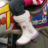 Детские сапоги: специально для наших морозов.