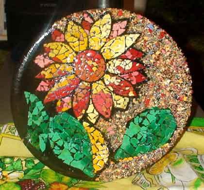 Мозаика из скорлупы