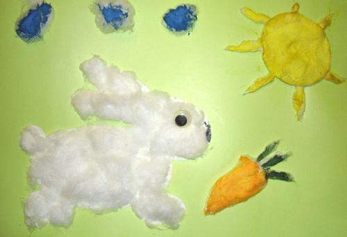 Заяц своими руками поделка